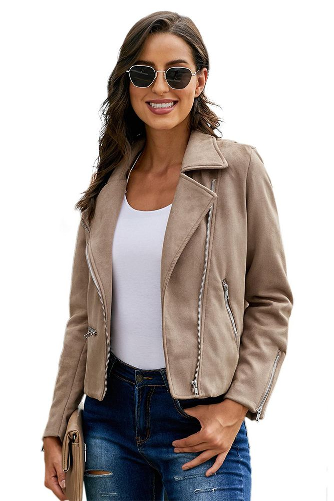 S2G Women's Microsuede Short Coat Jacket - outer wear