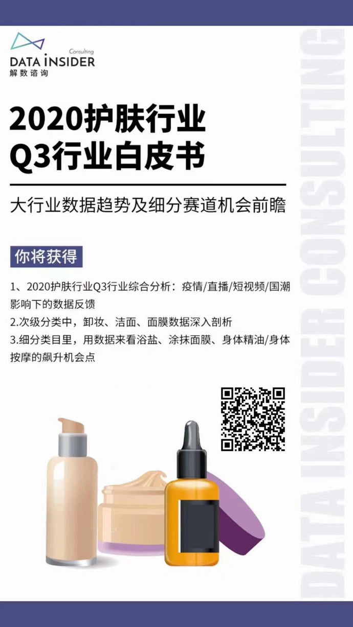 2020-Q3 China Skincare Industry White Book