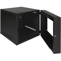 ICC Wall Mount Server Cabinet with 12 RMS and Plexiglass Door