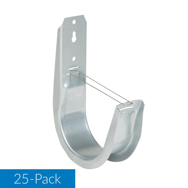 ICC 4″ Wall Mount J-Hook in 25 Pack