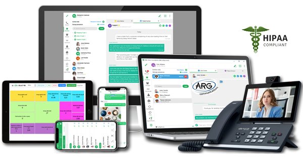 ARG Hosted Communication System - Work From Anywhere