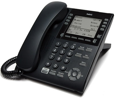 NEC SV9100 ITY-8LDX-1 DT820 8-BUTTON DESI-LESS DISPLAY IP PHONE