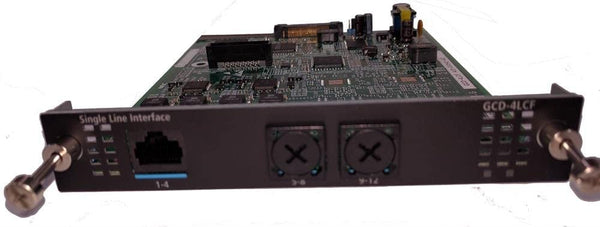 NEC SV9100 GCD-4LC 4-Port Analog Station Blade