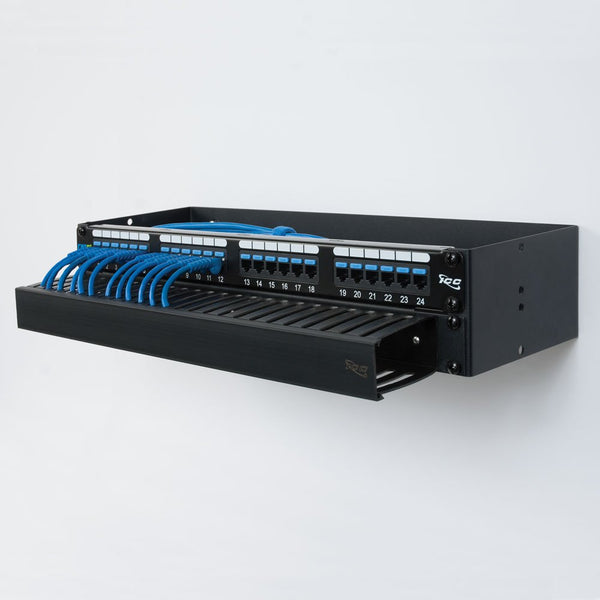 ICC CAT6 Patch Panel with 24 Ports and 1 RMS