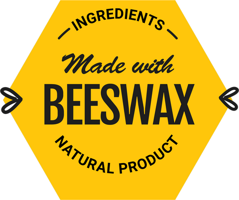 Our products are handmade and crafted from all-natural ingredients. We add beeswax, an ingredient that has been used by humans for thousands of years, to help give our products a solid form without the need to use preservatives or chemicals. Our customers love the way our cosmetics make them look and feel because we use this iconic natural ingredient that's more expensive than alternatives but worth it for a healthier & more natural product formula.  Products made with beeswax are also great for helping to retain moisture and protect your skin. What's more, they give products a firm texture, so your lotions won't easily break down.