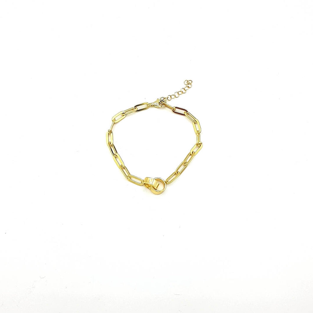 Armband Bicycle-chain Ring Gold