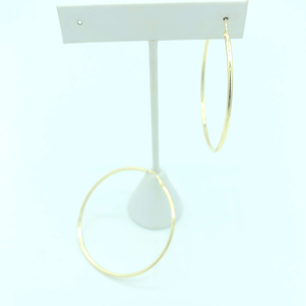 Classic Hoop Large Gold