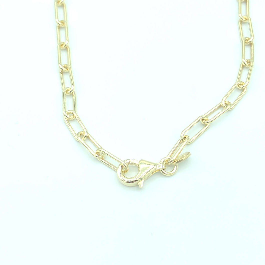 Bicycle Kette Thin Small Gold