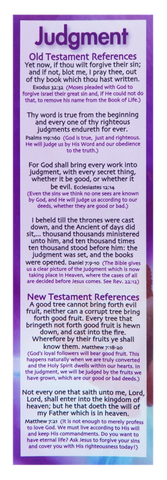 Judgment Bookmark