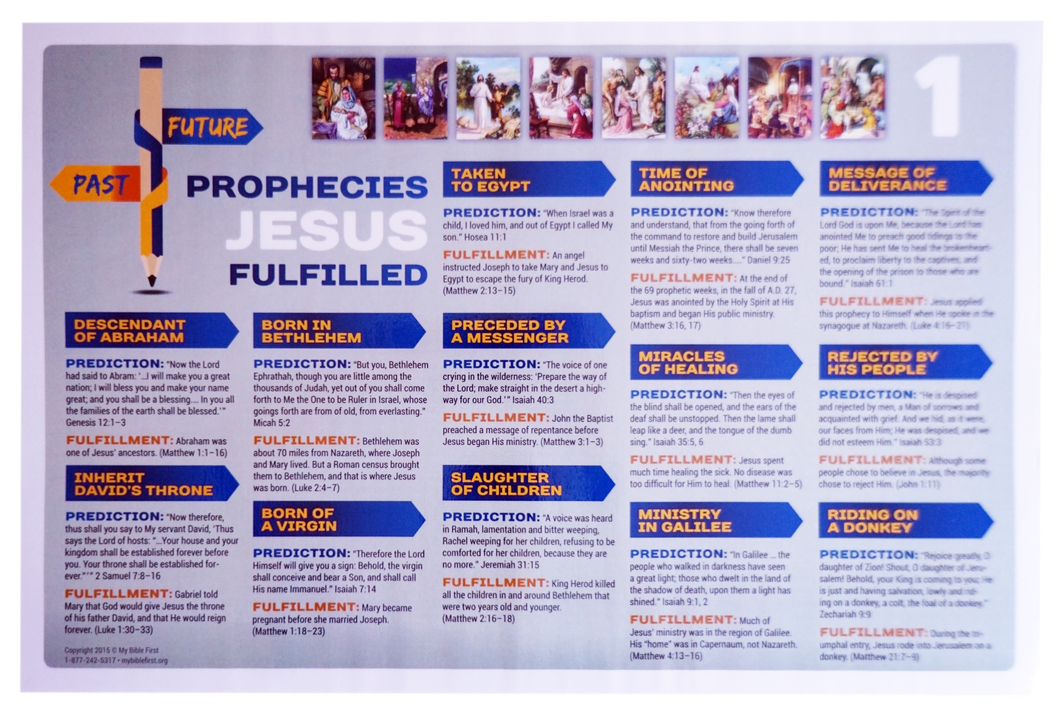 Prophecies of Jesus Fulfilled, Part 1 Poster