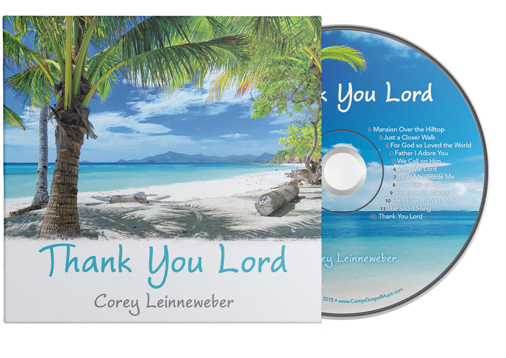 Thank You, Lord CD cover