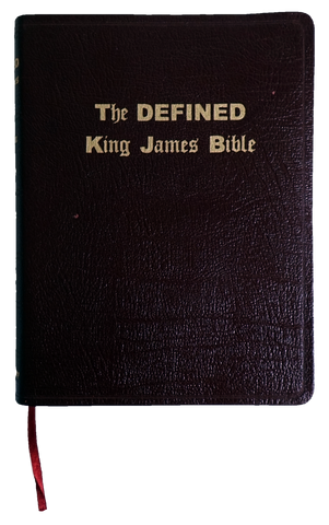 The Defined King James Bible