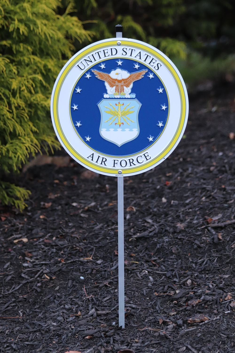 Air Force Yard Sign