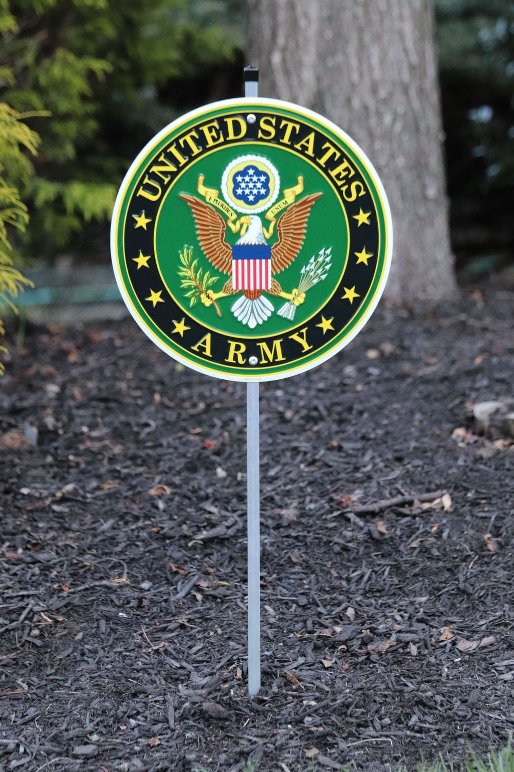 Army Yard Sign