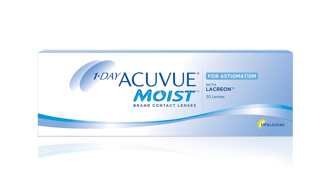Acuvue 1 Day Moist for Astigmatism - 30pk