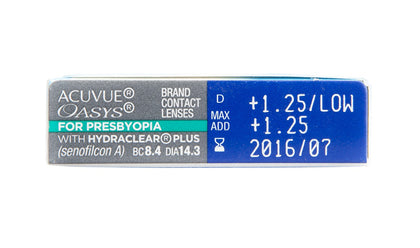 Acuvue Oasys for Presbyopia - 6pk