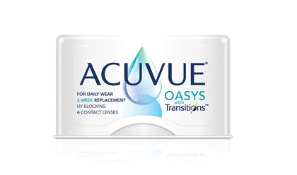 Acuvue Oasys with Transitions - 6pk