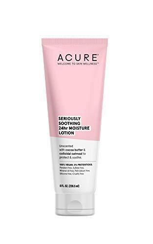 ACURE Seriously Soothing 24HR Moisture Lotion 100% Vegan Cocoa Butter & Colloidal Oatmeal, 8 Fl Ounce, ()