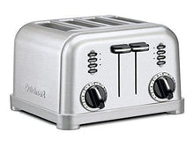 Load image into Gallery viewer, Cuisinart CPT-180P1 Metal Classic 4-Slice toaster, Brushed Stainless
