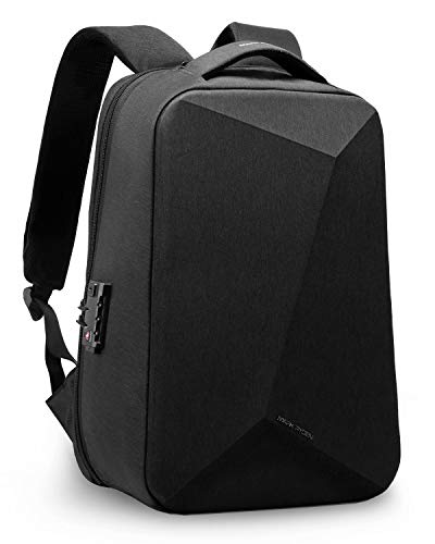 Laptop Backpack,Mark Ryden 15.6 Inch Business Anti Theft Slim Durable Laptops Backpack with USB Charging Port for Men Waterproof College Backpack (Black)