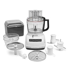 Load image into Gallery viewer, KitchenAid KFP1133WH 11-Cup Food Processor with Exact Slice System - White