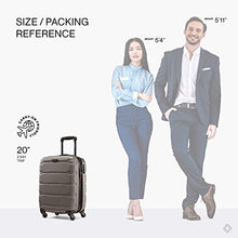 Load image into Gallery viewer, Samsonite Omni PC Hardside Expandable Luggage with Spinner Wheels, Silver, Carry-On 20-Inch