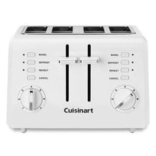 Load image into Gallery viewer, Cuisinart CPT-142P1 2-Slice Compact Plastic Toaster, 4, White