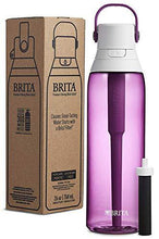 Load image into Gallery viewer, Brita Plastic Water Filter Bottle, 26 oz, Orchid