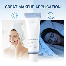 Load image into Gallery viewer, IOPE Derma Repair Cica Face Cream for Dry, Normal, Sensitive Skin - Anti Aging Face Moisturizer for Women, Madecassoside Day & Night Cica Cream 1.69 FL OZ (50 ml)