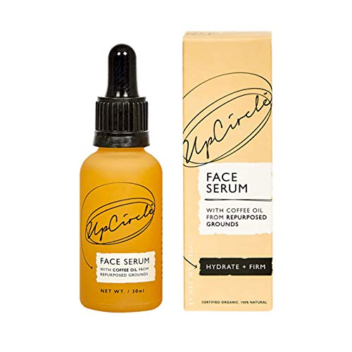 UpCircle Hydrating Organic Facial Serum With Coffee Oil 1oz