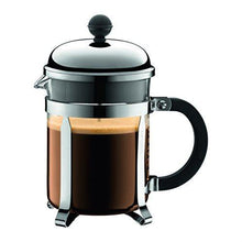 Load image into Gallery viewer, Bodum Chambord French Press Coffee Maker, 17 Ounce, .5 Liter, Chrome