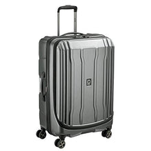 Load image into Gallery viewer, DELSEY Paris Cruise Lite Hardside 2.0 Expandable Luggage, Spinner Wheels, Platinum, Checked-Medium 25 Inch
