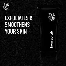 Load image into Gallery viewer, Black Wolf Nation Exfoliating Bamboo Face Scrub - 3 Fl Oz - Walnut Shells and Bamboo Stem Exfoliate and Smoothen Your Skin - Hydrating Sugar Technology Blend Helps Repair your Skins Moisture Barrier