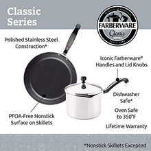 Load image into Gallery viewer, Farberware Classic Stainless Steel 2-Quart Covered Saucepan - - Silver