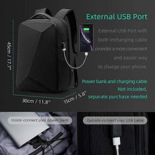 Load image into Gallery viewer, Laptop Backpack,Mark Ryden 15.6 Inch Business Anti Theft Slim Durable Laptops Backpack with USB Charging Port for Men Waterproof College Backpack (Black)