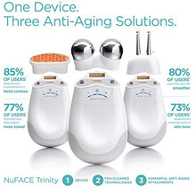 Load image into Gallery viewer, NuFACE Wrinkle Reducer Microcurrent Attachment for Trinity Facial Trainer Device | Red Light Therapy | Attachment for NuFACE Trinity to Minimize Fine Lines, Wrinkles | FDA Cleared At-Home System