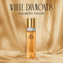 Load image into Gallery viewer, Elizabeth Taylor White Diamonds, Perfume for Women, Daytime Wear Scent, 3.3 oz