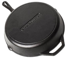 Load image into Gallery viewer, Pre-Seasoned Cast Iron Skillet - Utopia Kitchen (12.5 Inch)