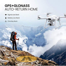 Load image into Gallery viewer, Drone with 4K Camera for Adults 31Mins Flight, Potensic Dreamer GPS RC Quadcopter with Brushless Motors, Auto Return, Altitude Hold, 5.8G WiFi FPV Transmission, Long Control Range Flycam for Beginner