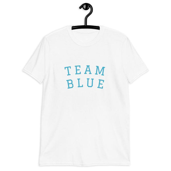 Team Blue Gender Reveal Tee Short-Sleeve Unisex - Party Ingredients