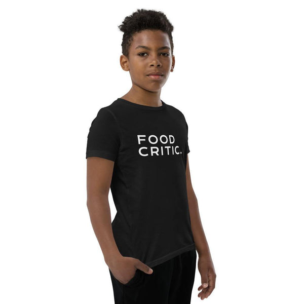 Food Critic. Youth Short Sleeve T-Shirt - Party Ingredients