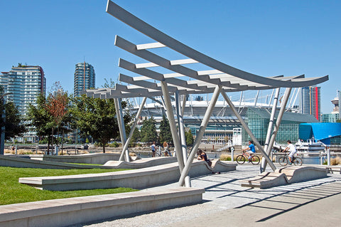 Triangle Park Sculpture, Vancouver, Nick Milkovich Architects