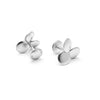 Clover Series Handcrafted Japanese Jewelry Luxury Cufflinks Sterling Silver Matte hk+np Studio