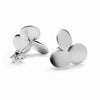 Clover Series Handcrafted Japanese Jewelry Minimalist Earrings Sterling Silver Matte hk+np Studio