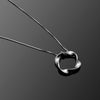 Twist Series Handcrafted Japanese Jewelry Pendant Necklace Sterling Silver Mirror hk+np Studio
