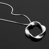 Twist Series Handcrafted Japanese Jewelry Pendant Necklace Sterling Silver Scratch hk+np Studio