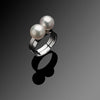 Lunar Series Handcrafted Japanese Jewelry Minimalist Ring Sterling Silver hk+np Studio