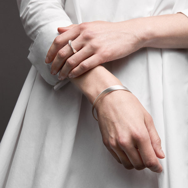 Twist Series Handcrafted Japanese Jewelry Minimalist Rings Sterling Silver Mirror hk+np Studio