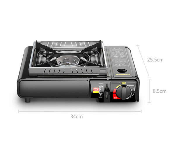 Portable Dual Fuel Camping Stove