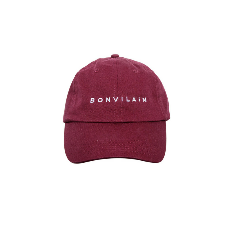 Burgundy Signature Cap